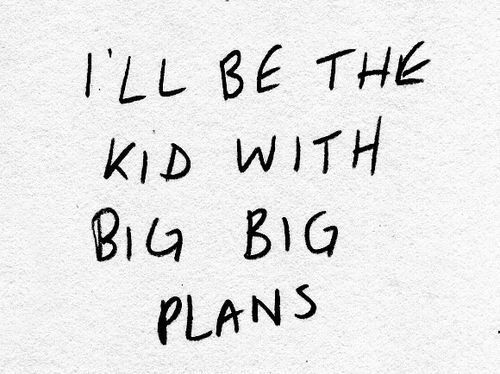 that are squashed by others but i still have them Big Big plans