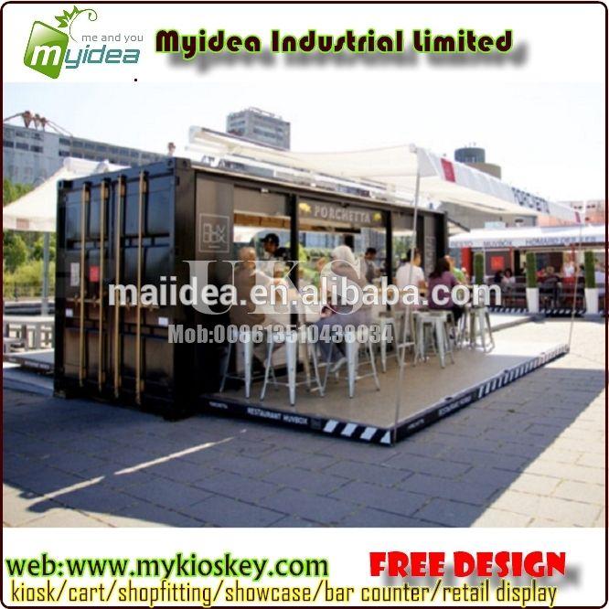 Hydralic Ouverture En Plein Air Conteneur D'expédition Café et Café Mobile Pour Vente-image-Maisons préfabriquées-ID de produit:60118952612-french.alibaba.com