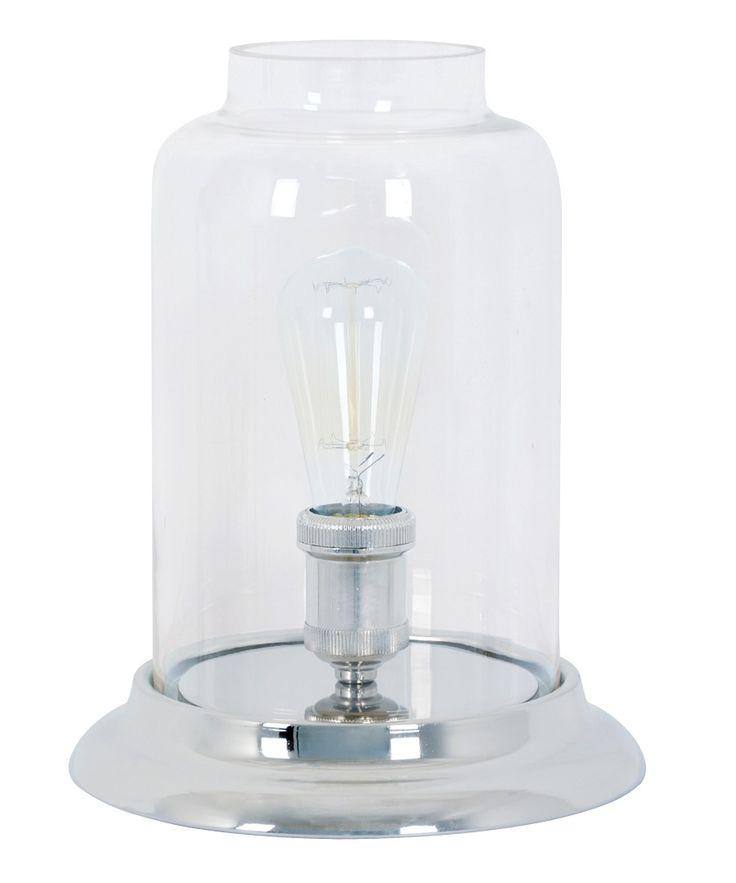 Grayson 1 Light Table Lamp in Nickel