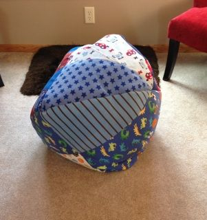 Turn T Shirts Jerseys Baby Blankets Or Clothes Into A Bean Bag Chair