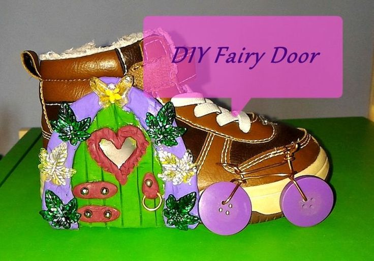 Easy to Make Fairy Door