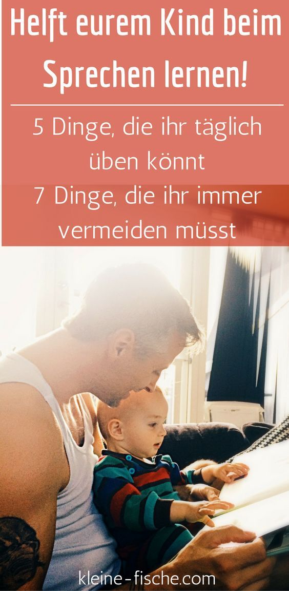 Sprechen lernen ist für Babys und Kleinkinder mit das Wichtigste. Denn Sprache ist ein integraler Teil wenn es darum geht Beziehungen zu knüpfen, Dinge zu lernen und den Nachwuchs auf das Leben vorzubereiten. Außerdem macht gemeinsames Sprechen lernen und Sprachentwicklung richtig Spaß. Wir haben 5 Tipps und 7 No-Gos für das tägliche Sprechen üben für euch. – Julia