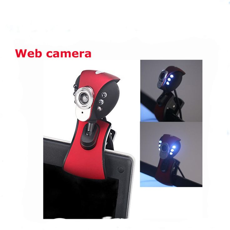 Monkey King USB 2.0 HD Webcam Web Camera with Microphone Mic&6 LED light Laptop PC Computer //Price: $12.86 & FREE Shipping //     #hashtag2