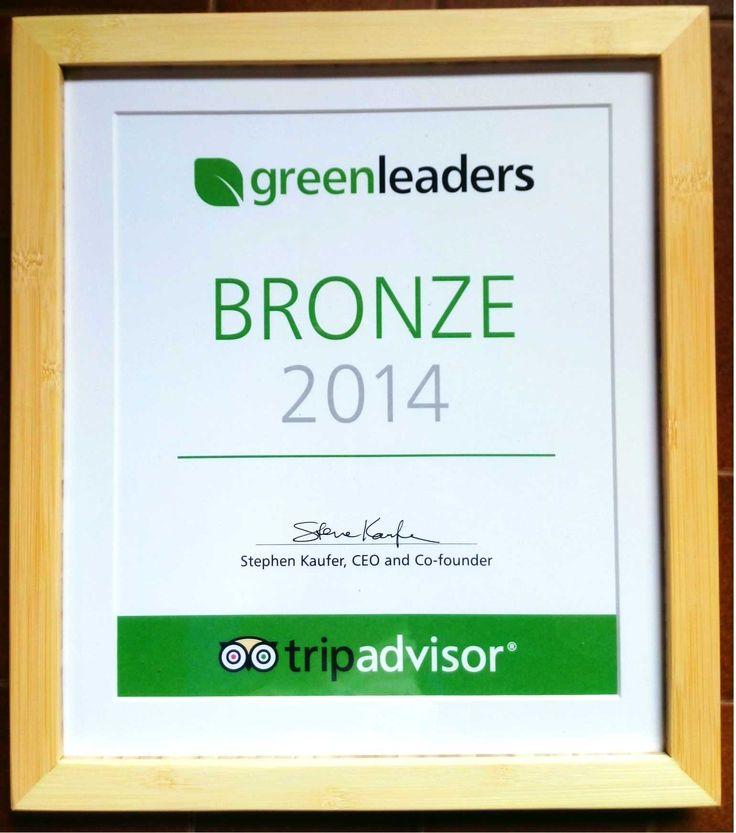 We've got the certification of TripAdvisor's #Greenhotel! #Ecology #SalonikiouBeach