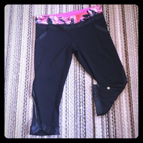 Lululemon short workout pant. Excellent item. Lululemon short workout pant. Excellent item size 12 fits like a large. lululemon athletica Pants Capris
