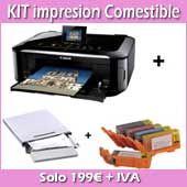 Papel comestible personalizado: Imprimir foto en papel comestible. Papel de azucar, obleas decoradas y chototransfer personalizado.