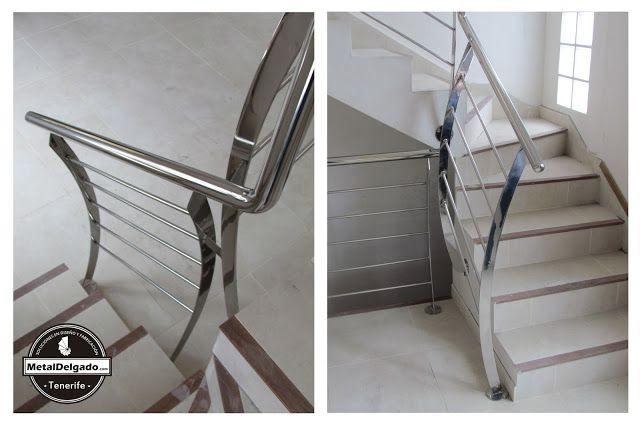 Mejores 27 im genes de barandas acero inoxidable tenerife - Barandas de escaleras ...