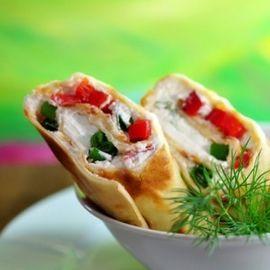 Een zomerse wrap met tonijn en Tzatziki. Video uitleg van Herman den Blijker: http://youtu.be/56Gropj54WM