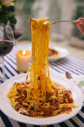 Left over lamb spicy ragu - Perfect comfort ford!