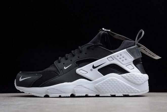 cheaper 00985 52fc7 Nike Air Huarache Run ZIP QS Black White BQ6164-001