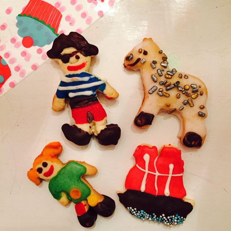 Pippi und die Piraten / Kekse Pippi, Pirat, Kleiner Onkel, Hoppetosse #habichselbstgemacht