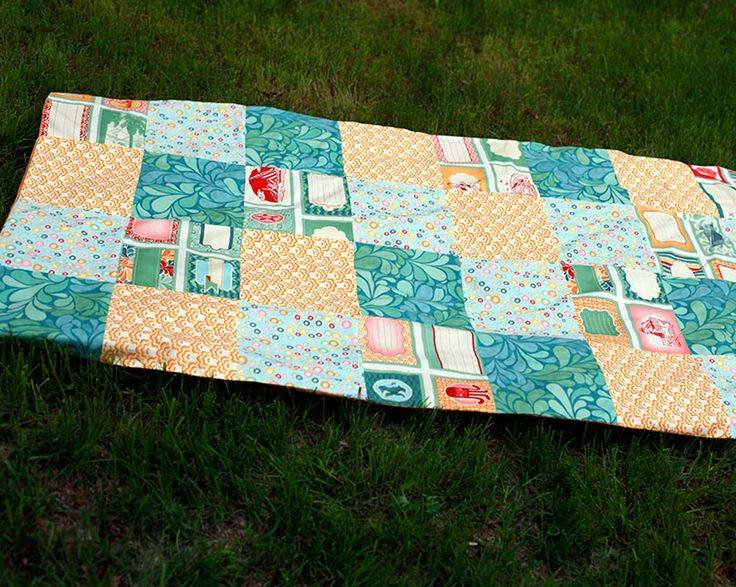 How to Sew a Picnic Quilt www.fiskars.com