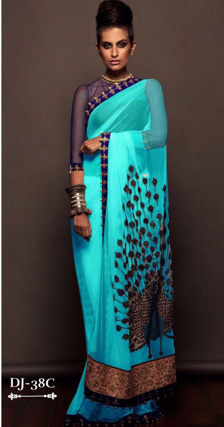 #SareeInternational brings this Beautiful Master Piece Peacock Saree is out here with just ₹1740/- plus shipping.. Be the Center of Attraction.. Comes up with 3 colours.. Order it now.. Delivered World wide..