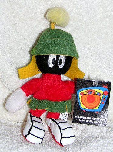 Warner Bros Studio Store 6 Plush Marvin the Martian Mini Bean Bag Doll @ niftywarehouse.com