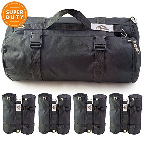 I just bought this and love it. Best Outdoor Canopy Weight Canopy Weight Bags, Set of 4, Large . you can see what others said about it here http://bridgerguide.com/best-outdoor-canopy-weight-canopy-weight-bags-set-of-4-large/