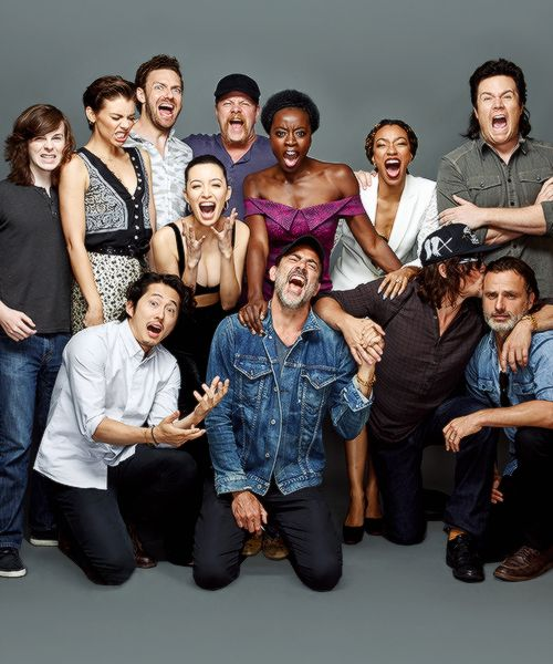 Ross marquand and the walking dead cast