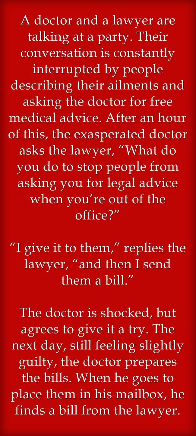 doctor + lawyer