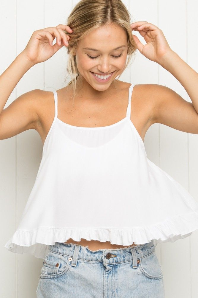 Brandy ♥ Melville | Laynie Tank - Tanks & Halters - Tops - Clothing