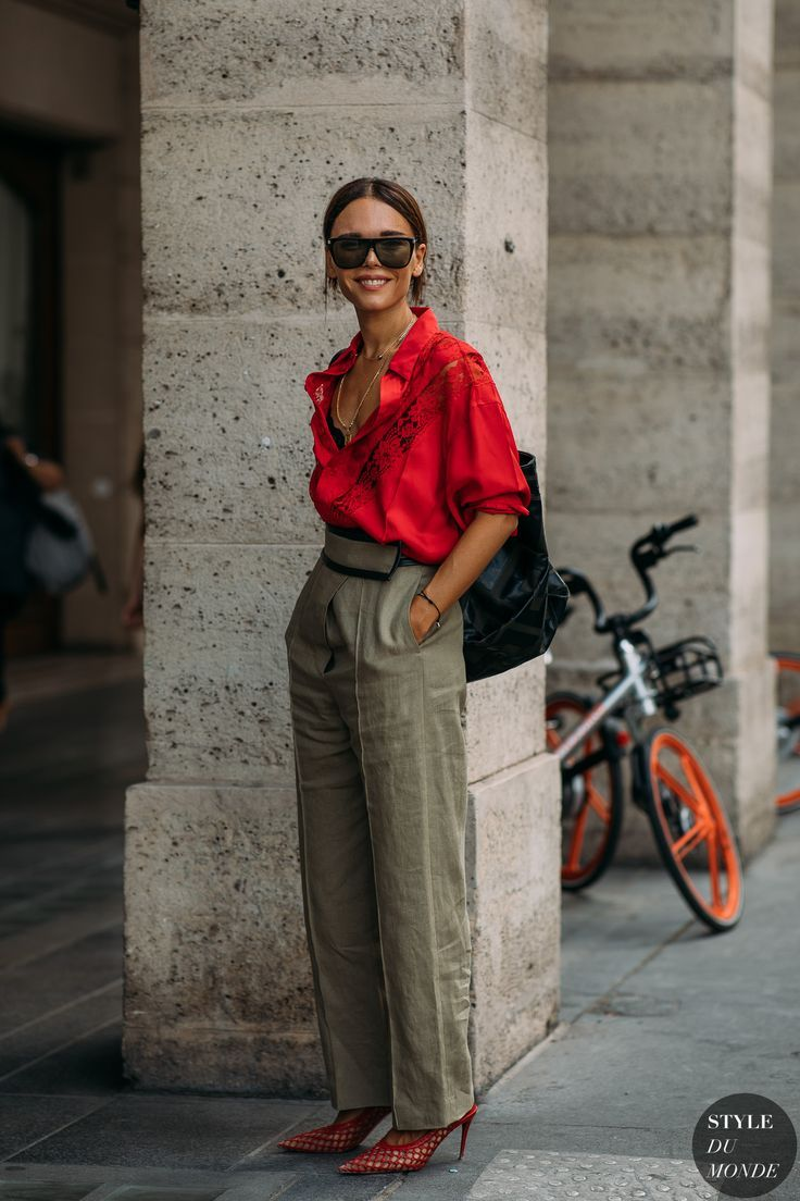 Haute Couture Autumn / Winter 2018/19 Street Style: Gospel Smyrniotaki