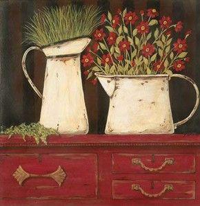 Imagens de Vasos- Artesanato, Patchwork, Pintura em Madeira e Patchcolagem – Portal do Artesanato – Faça Arte!