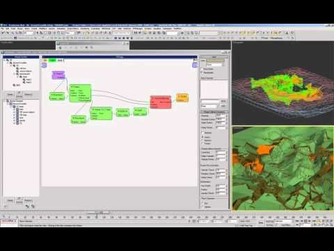 Thinking Particles for Production - Ground Crumble Production Part 003 - YouTube