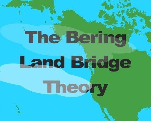 Land Bridge Theory Animation | Click image to play the Bering Land Bridge Theory animation.