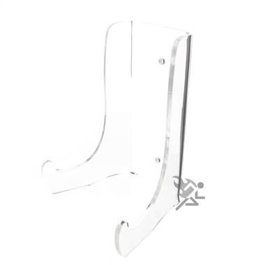 """7.5"""""""" Heavy Duty Clear Acrylic Plate Display Stands"""