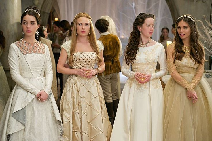 "#Reign 2x12 ""Banished"" - Queen Mary, Greer, Lola and Kenna"