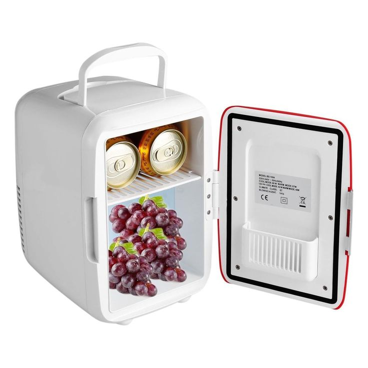Mini Fridge Cooler Warmer Auto Car Boat Home Office Small Refrigerator