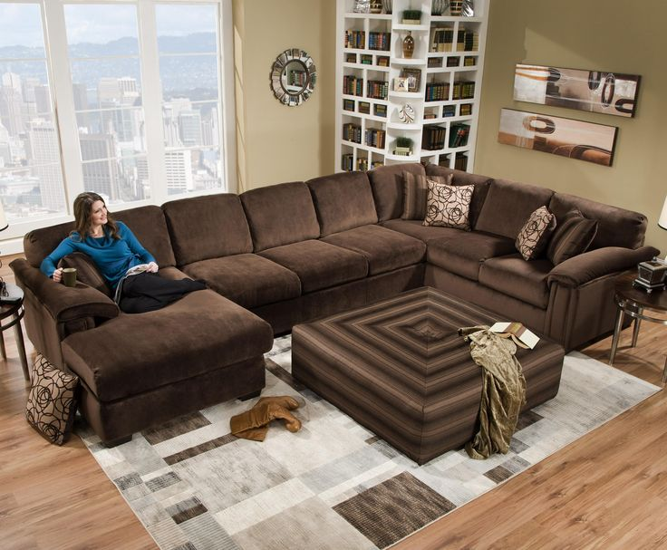 12 best New Sectional images on Pinterest Family rooms Sectional