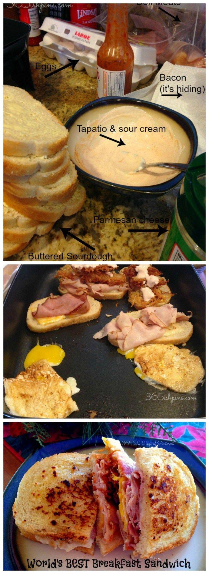 World's Best Breakfast Sandwich - 365ish Days of Pinterest