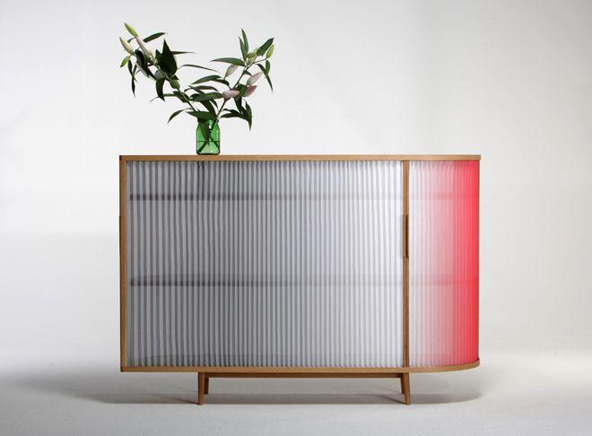 PLISSEE sideboard by Anne Boenisch: Object, Furniture