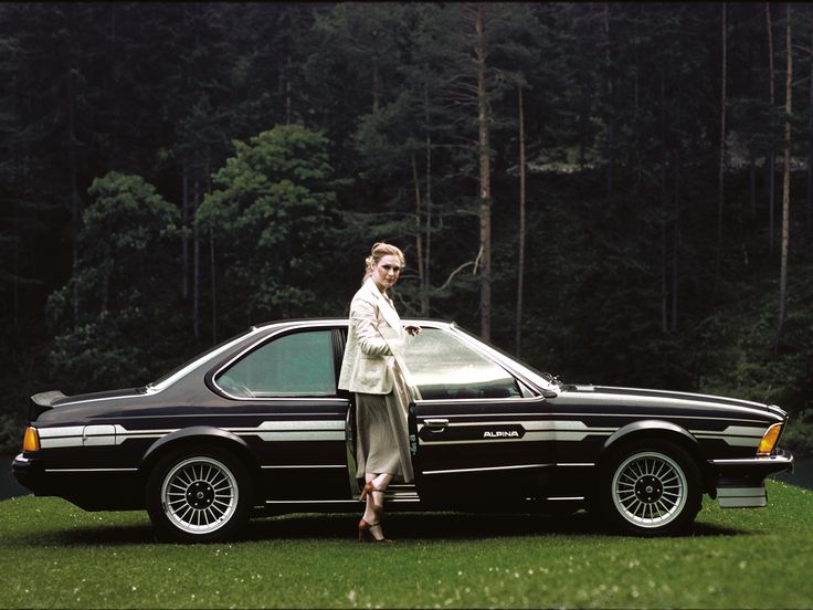 BMW ALPINA B7 Turbo Coupé based on BMW 630CSi (E24). Production: 1978-1982