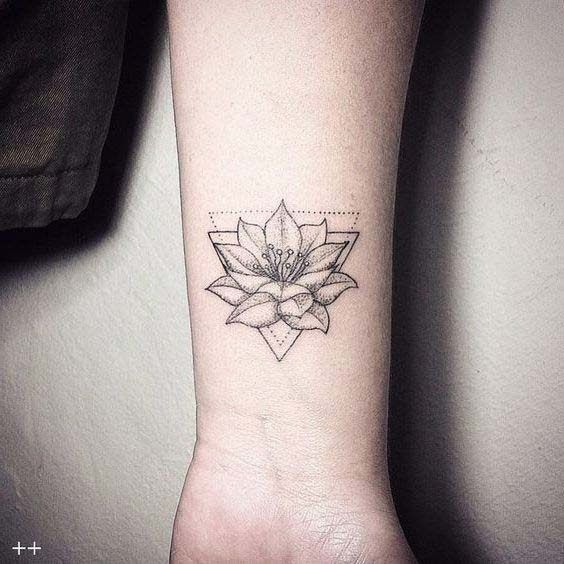 55 Coolest Lotus tattoos and ideas with meanings # meanings # ideas #cool #lotus #tattoos
