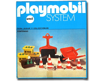 Playmobil 3202 Construction Urban complementes_Antex Argentina // Not available - Shipping worldwide