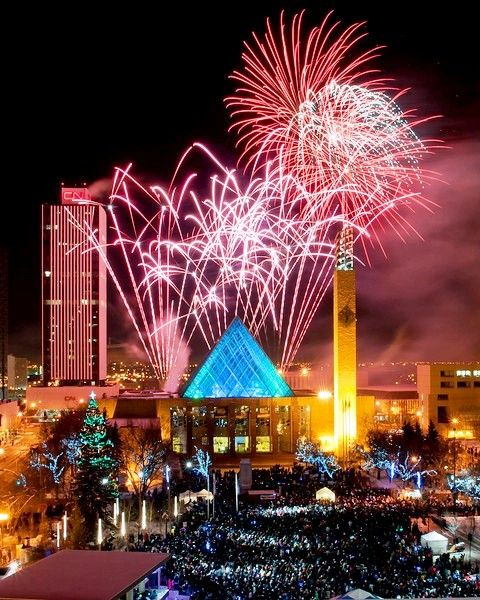 New Years Eve at City Hall. I think WOW sums it up!
