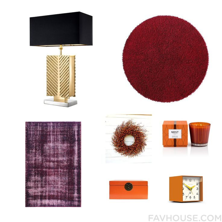 Interior Trick With Eichholtz Table Lamp Plush Area Rug Rug And Fall Door Wreath From November 2016 #home #decor
