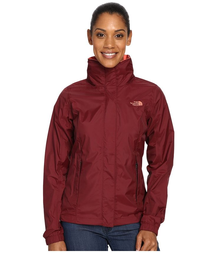 THE NORTH FACE THE NORTH FACE - RESOLVE JACKET (DEEP GARNET RED) WOMEN'S COAT. #thenorthface #cloth #