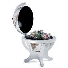Incanta-i simturile fine cu un cadou de lux pentru sefa fecioara un glob pamantesc de birou Trendy