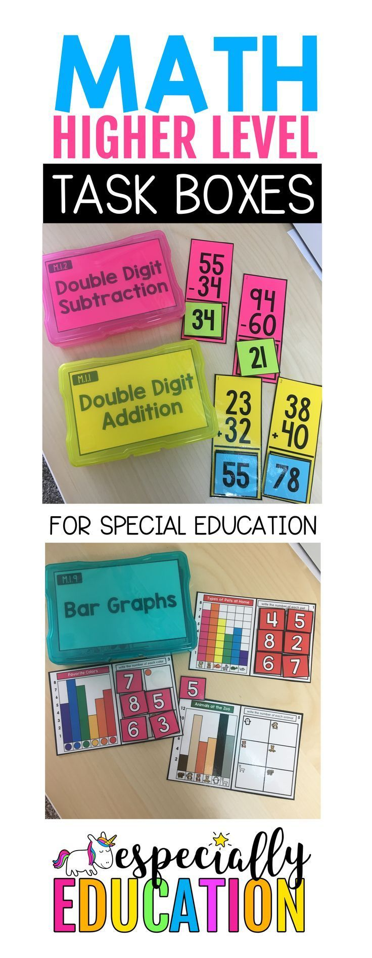 Math Increased Stage Activity Bins