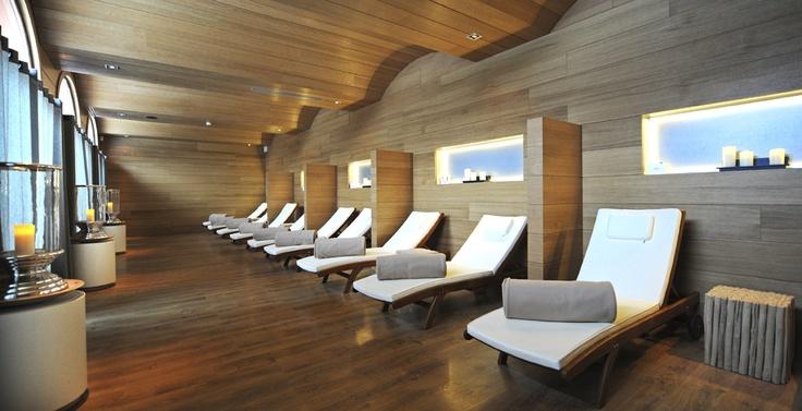 Sala de relajación en Club Med Spa by CARITA - Club Med Valmorel, Alpes - Francia