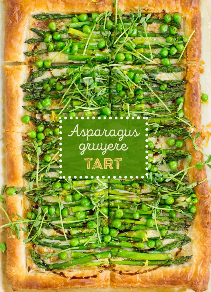 Jump into spring with an asparagus puff pastry tart. This recipe makes appetizer for entertaining.