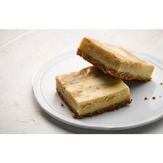 Sea Salt Caramel Swirl Cheesecake Bars Recipe