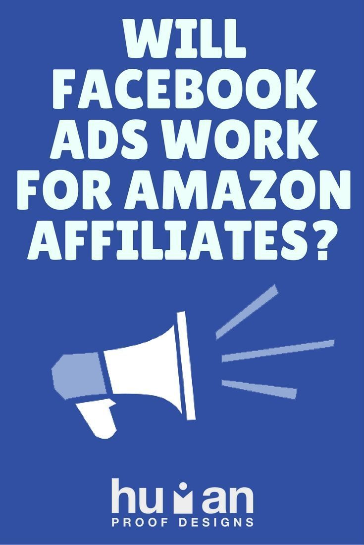 Facebook ad are a great idea for Amazon affiliates, but do they work in every niche? We find out.