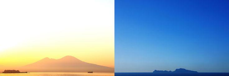 Napoli, Vesuvio e Capri - AcquaFuoco, o del come nasce e si sviluppa faticosamente un'idea creativa. Così ho realizzato il mio libro su Napoli.