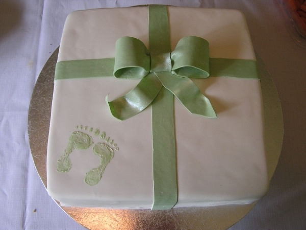simple baby shower cakes - Google Search