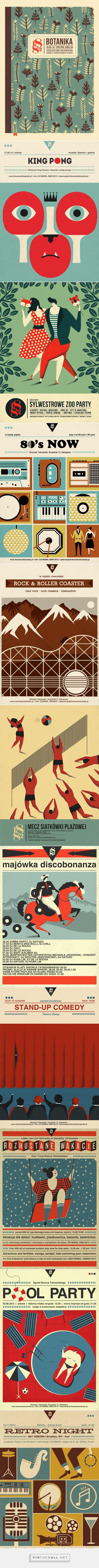 dworzec tatrzański bar & restaurant | posters on Behance