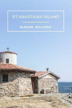 Travel to Bulgaria's seaside - St.Anastasia Island in Burgas  https://eostories.com/2016/08/20/st-anastasia-island-in-burgas-bulgaria/