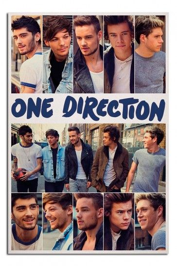 One Direction 2014 Scrapbook Poster