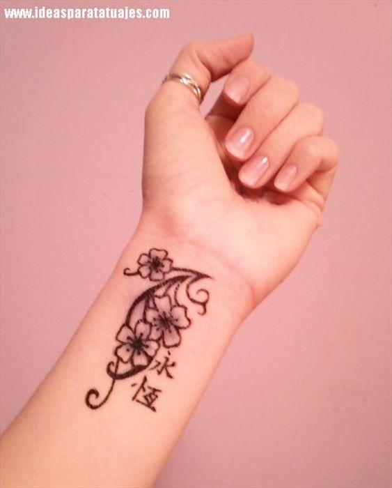 Tatuajes De Estrella En La Muñeca De Una Mujer Tatuajes Hermosos